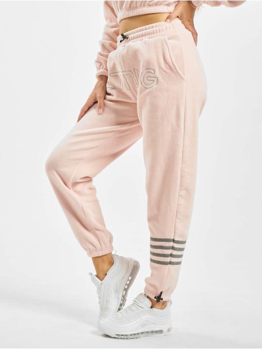 Grimey Wear Spodnie do joggingu Sighting In Vostok Polar Fleece rózowy