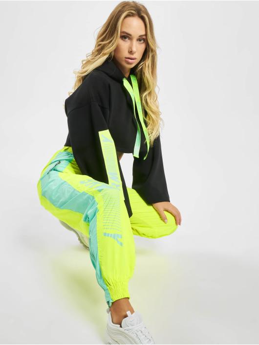 Grimey Wear Spodnie do joggingu Mysterious Vibes Fluor zólty