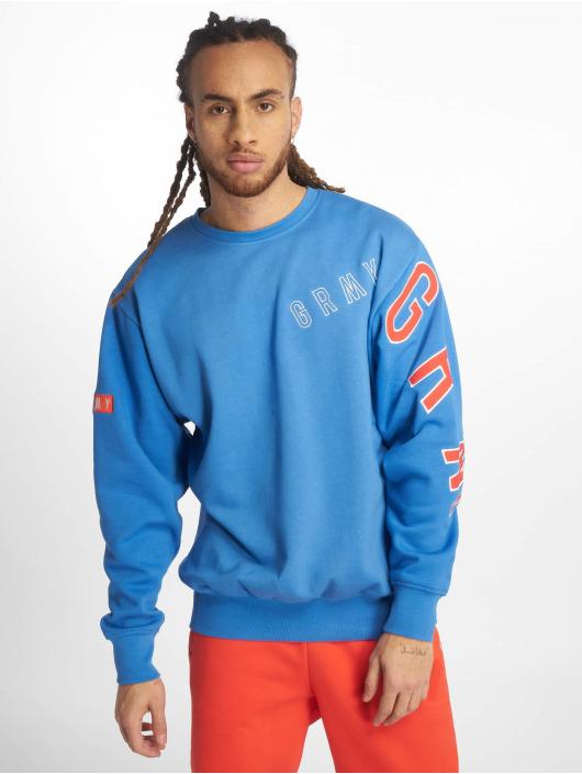 Grimey Wear Svetry F.a.l.a. Crewneck modrý