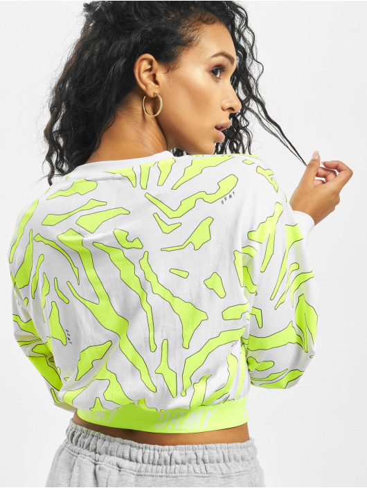 Grimey Wear Sweat & Pull Mysterious Vibes Long Sleeve blanc