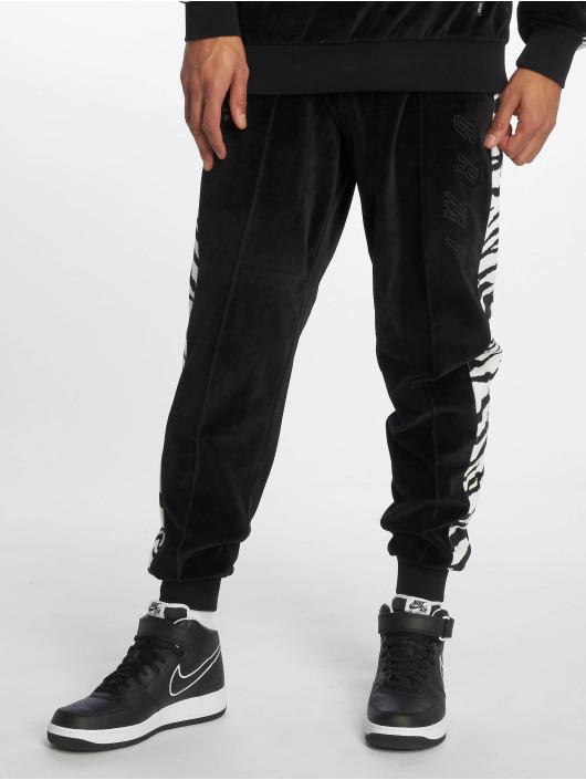 Grimey Wear Sweat Pant Natos Y Waor Velour black