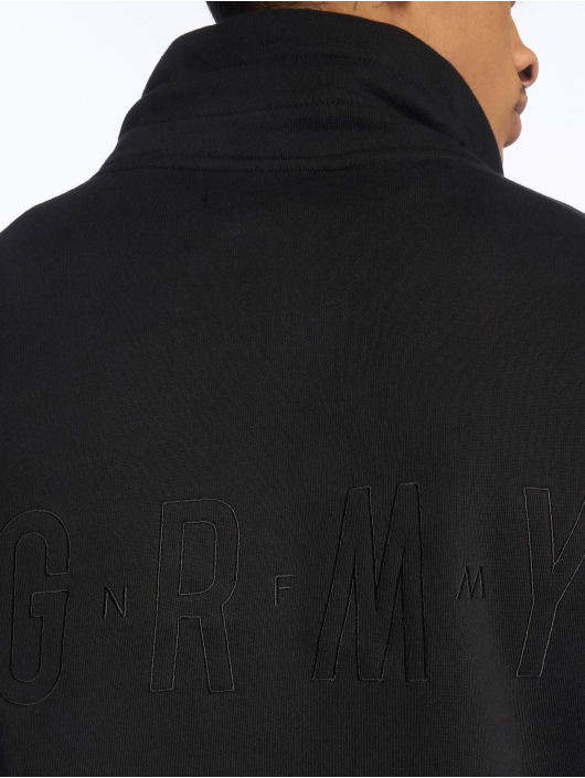 Grimey Wear Swetry Midnight Hi Neck czarny