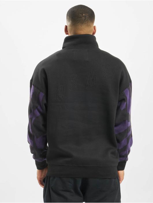 Grimey Wear Swetry Mysterious Vibes High Neck czarny