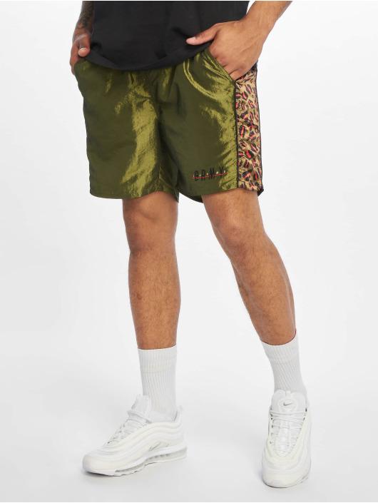 Grimey Wear Szorty Midnight Chameleon zielony