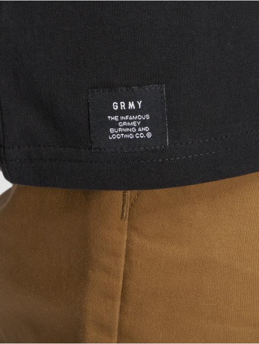 Grimey Wear T-paidat Fuck Fame musta