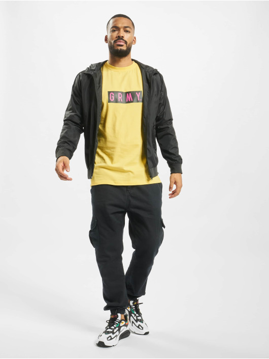 Grimey Wear T-shirt Flying Saucer giallo