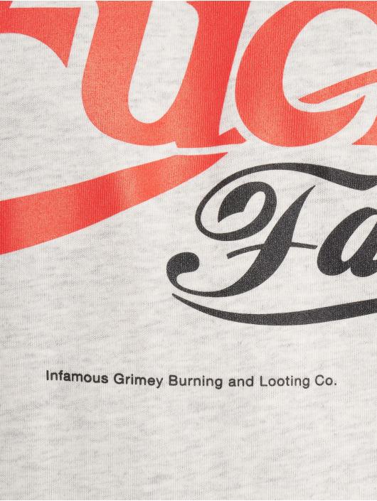 Grimey Wear T-shirt Fuck Fame grå