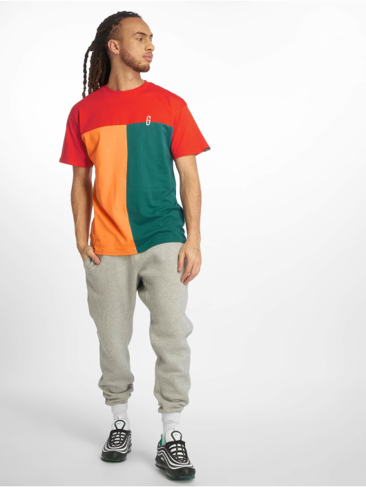 Grimey Wear T-Shirt Midnight Tricolor red