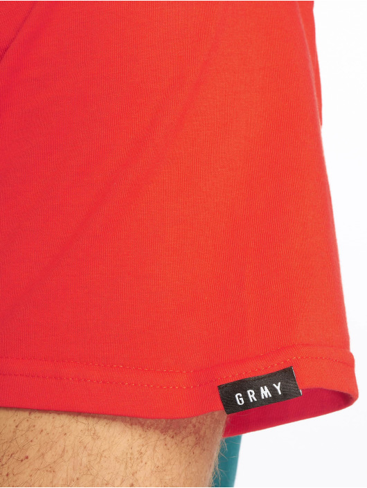 Grimey Wear T-shirt Midnight Tricolor rosso
