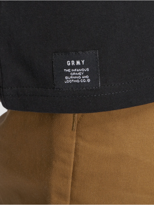 Grimey Wear T-shirt Fuck Fame svart