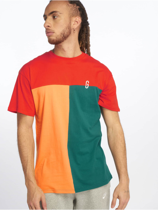 Grimey Wear T-shirts Midnight Tricolor rød