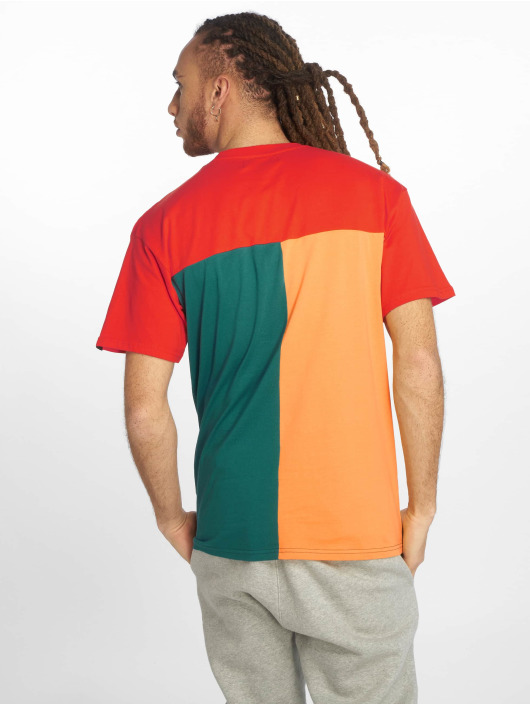 Grimey Wear T-Shirty Midnight Tricolor czerwony