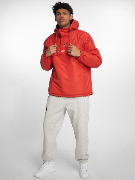 Grimey Wear Talvitakit GTO Heritage Anorak punainen