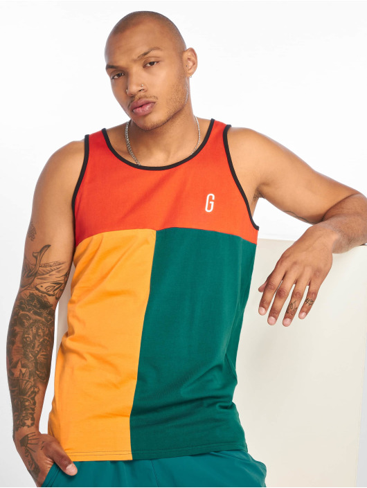 Grimey Wear Tank Tops Midnight Tricolor rot