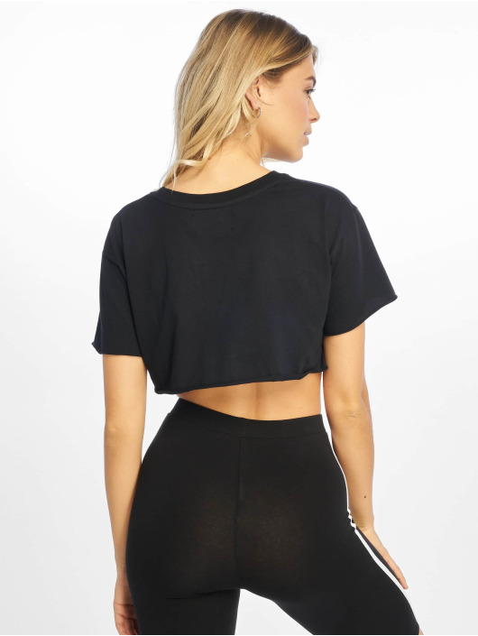 Grimey Wear Tops sans manche Fluid Planet Crop noir