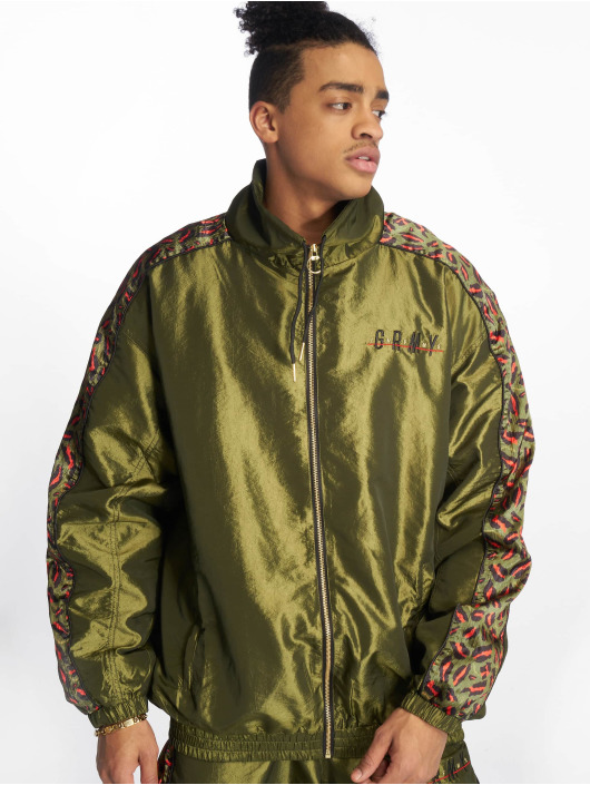 Grimey Wear Transitional Jackets Midnight grøn