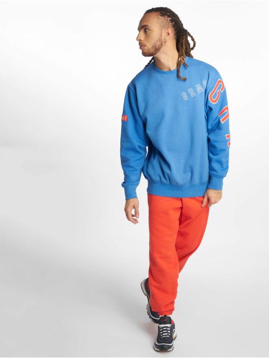Grimey Wear trui F.a.l.a. Crewneck blauw