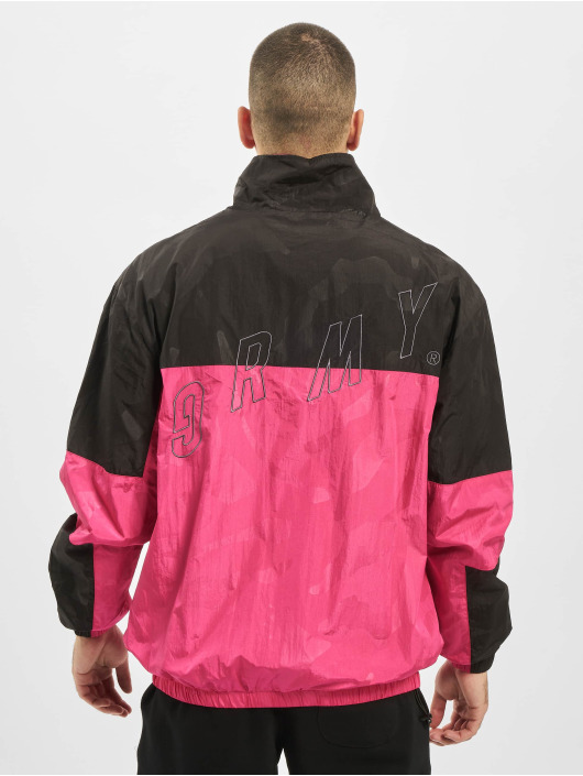 Grimey Wear Übergangsjacke Mysterious Vibes pink