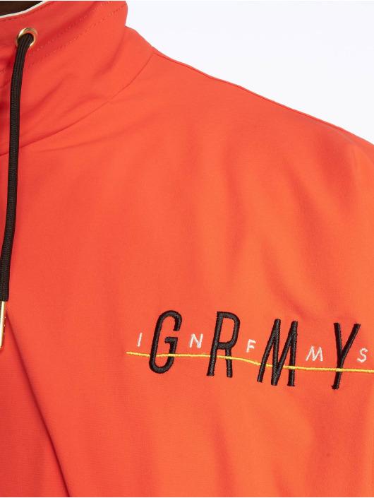Grimey Wear Übergangsjacke Midnight rot