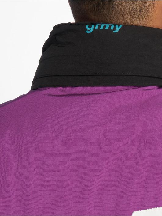 Grimey Wear Välikausitakit Flamboyant purpuranpunainen