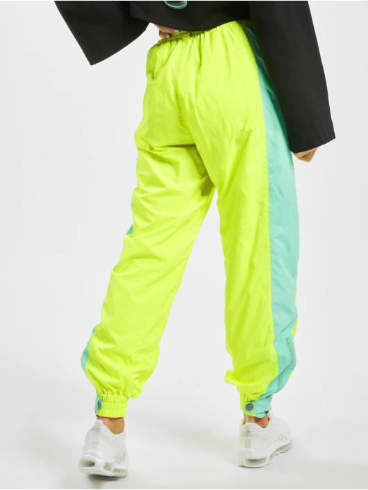Grimey Wear Verryttelyhousut Mysterious Vibes Fluor keltainen