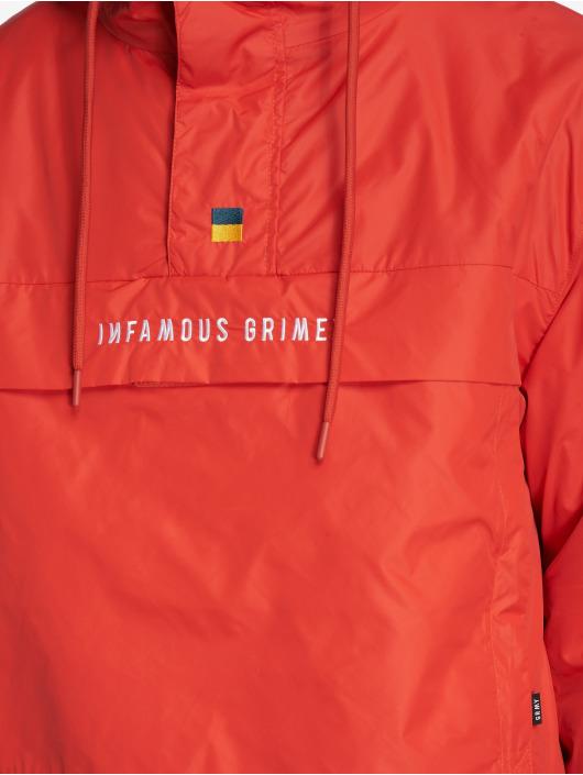 Grimey Wear Vinterjackor GTO Heritage Anorak röd