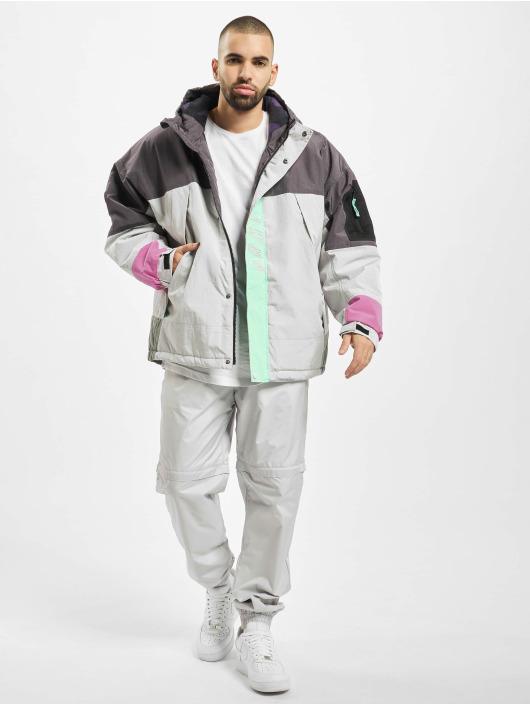 Grimey Wear Winter Jacket Mysterious Vibes grey