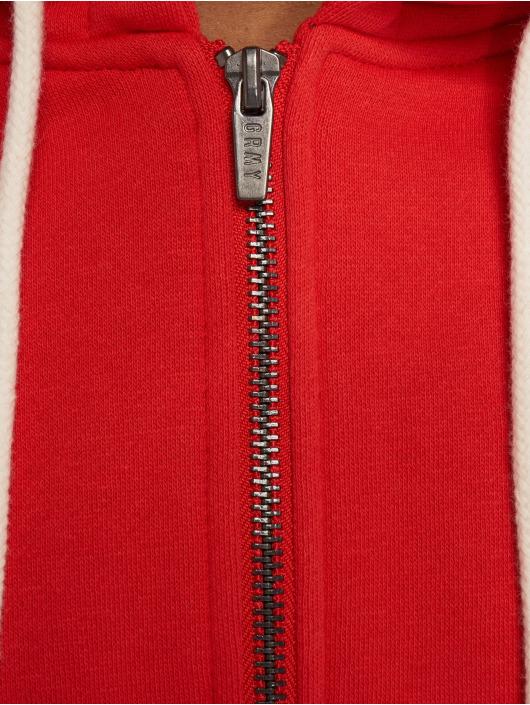 Grimey Wear Zip Hoodie Core rot