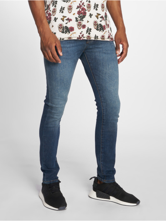 GRJ Denim Jean slim Basic bleu
