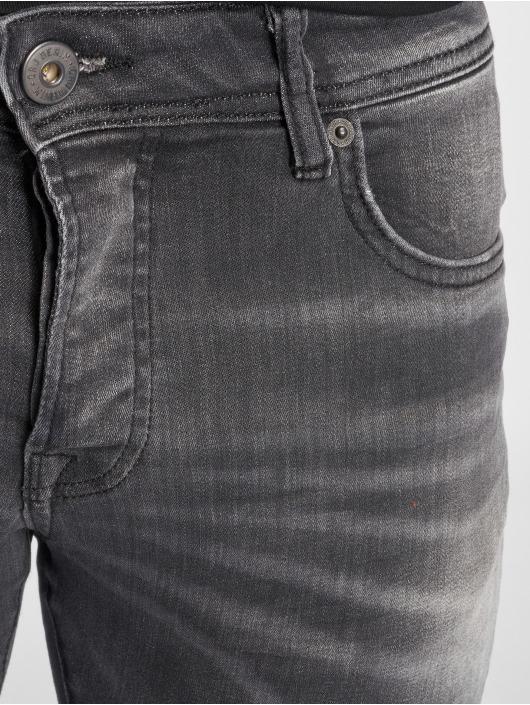 GRJ Denim Jean slim Basic gris
