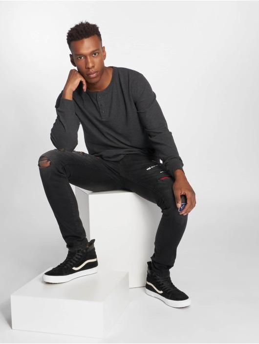 GRJ Denim Slim Fit Jeans Fashion zwart