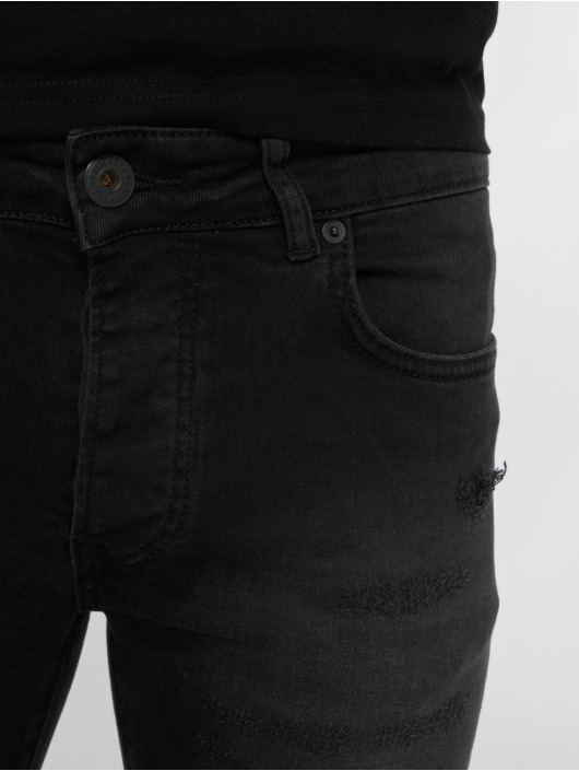 GRJ Denim Slim Fit Jeans Fashion zwart