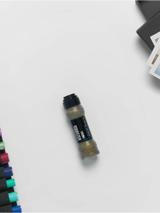 Grog Marker Squeezer Paint Mini 20mm golden goldfarben