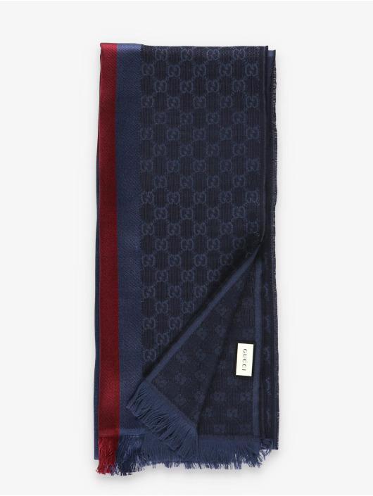Gucci Šály / Šátky Logo modrý