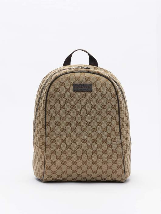 Gucci Backpack Logo // Warning: Different return policy – item can not be returned beige