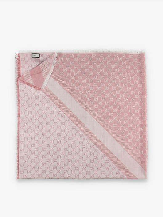Gucci Halstørklæder/Tørklæder Logo rosa