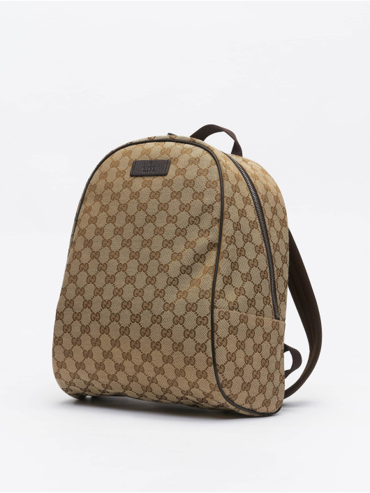 Gucci Plecaki Logo // Warning: Different return policy – item can not be returned bezowy
