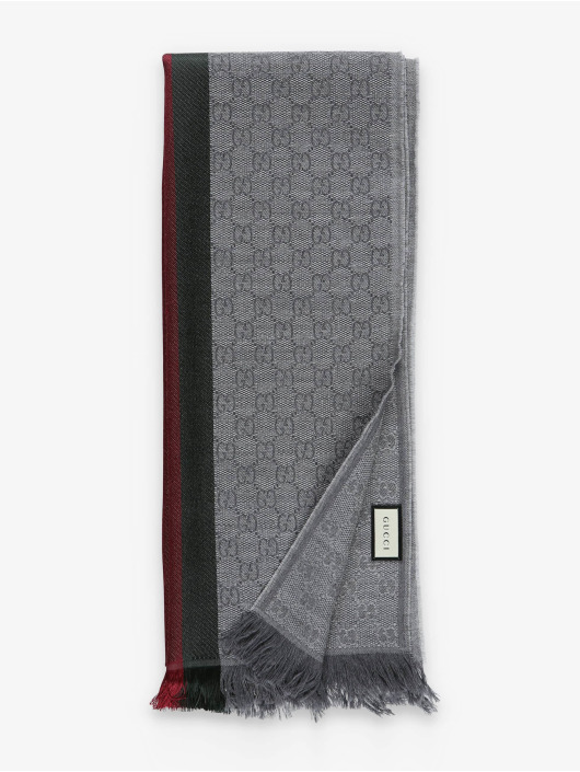 Gucci sjaal Logo grijs