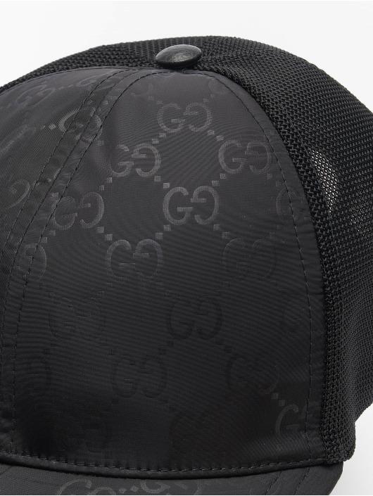 Gucci Trucker Caps Logo czarny