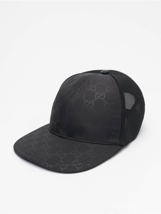 Gucci Truckerkeps Logo svart
