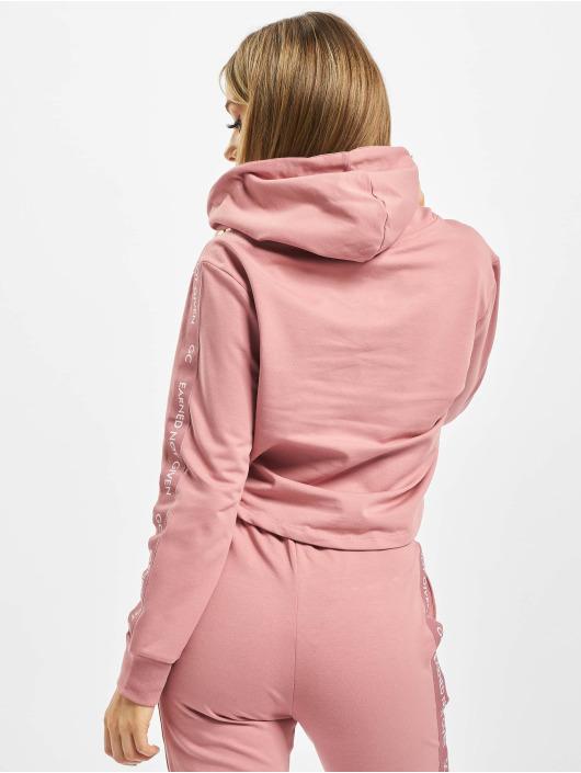 GymCodes Bluzy z kapturem Lady rózowy