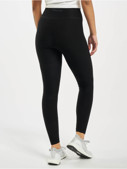 GymCodes Leggings/Treggings Madrid Premium Mesh czarny