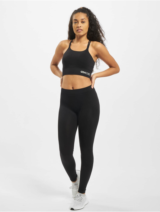 GymCodes Sports Bra Melbourne black