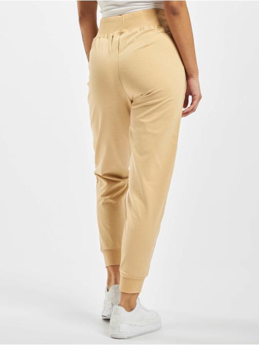 GymCodes Sweat Pant Lady Zip beige