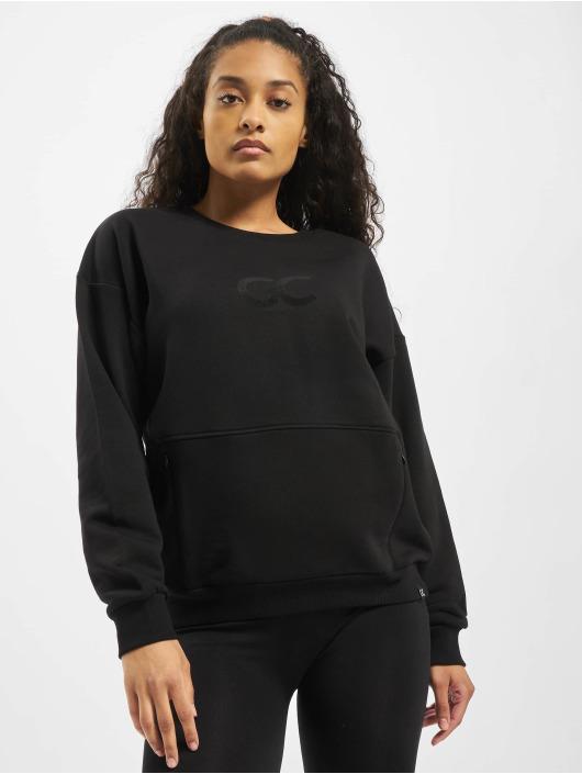 GymCodes Swetry Cozy Oversized czarny