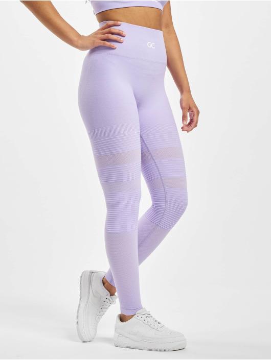 GymCodes Urheiluleggingsit Madrid Premium Mesh purpuranpunainen