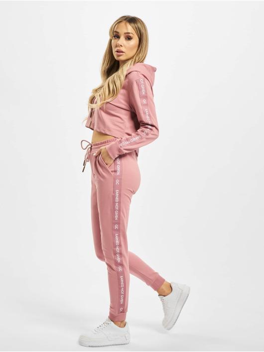 GymCodes Verkkahousut Lady Jogger roosa