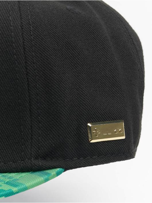 Hands of Gold Snapback Cap Blocks schwarz
