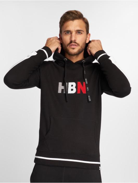 Hechbone Bluzy z kapturem Hoody czarny