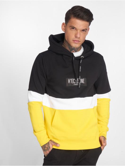 Hechbone Hoodie Colorblock svart